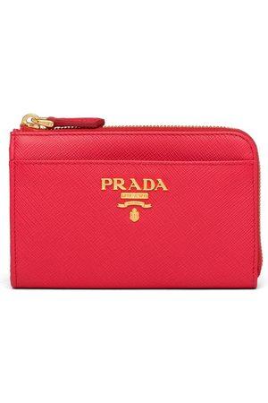 Prada Saffiano keychain purse