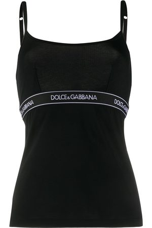Dolce & Gabbana Logo band tank top