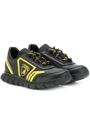 Bumper Boys Sneakers - Lamborghini patch sneakers
