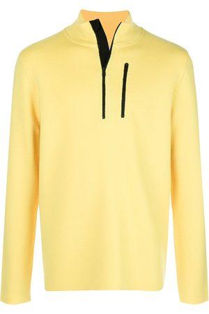 Aztech Men Turtlenecks - Zip detail high neck sweater