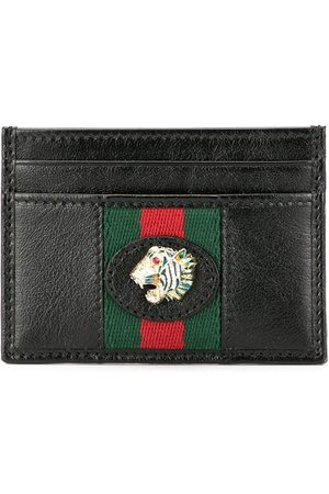 Gucci Women Wallets - Web stripe card holder