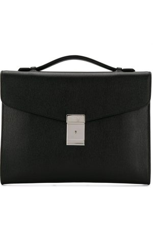 Church's Crawford engraved logo briefcase