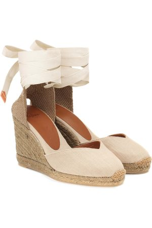 Castaner Chiara canvas wedge espadrilles
