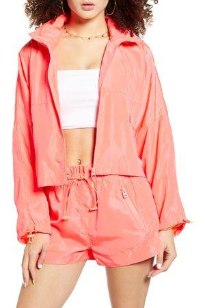 BLANK NYC Women's Packable Nylon Jacket