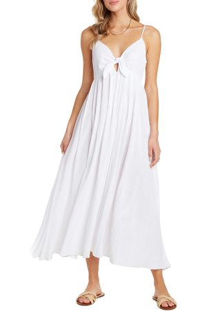 Willow Women's Rochelle Tie Front Midi Sundress