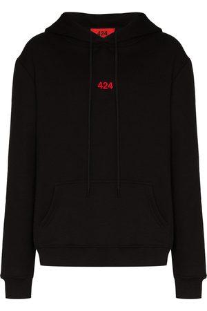 424 FAIRFAX Men Hoodies - Logo-embroidered hoodie