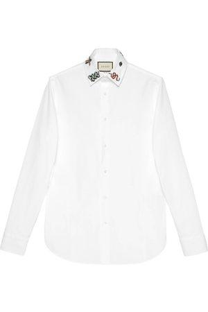 Gucci Cotton shirt with symbols