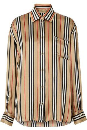 Burberry Icon oversized shirt