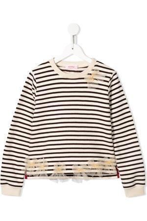 Familiar Striped mariner sweatshirt