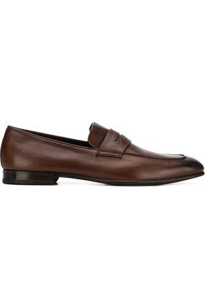 Ermenegildo Zegna Burnished leather loafers
