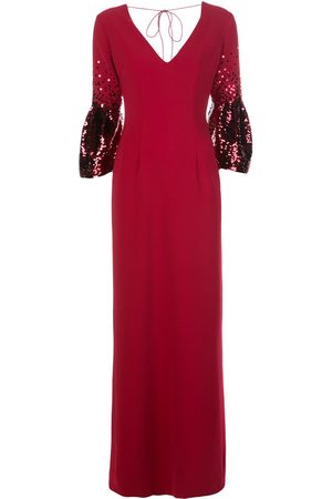 Sachin & Babi Tower sequin-embellished gown