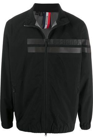 Rossignol Striped-front zip-through jacket