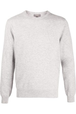 N.PEAL The Oxford 1Ply jumper - Grey