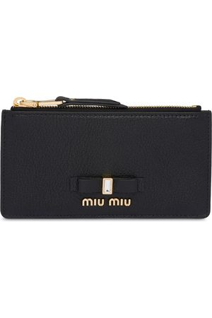 Miu Miu Madras zipped coin purse