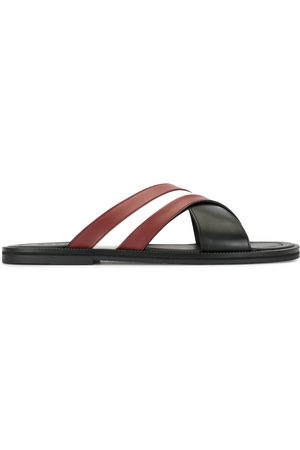 Bally Men Sandals - Logo stripe slides