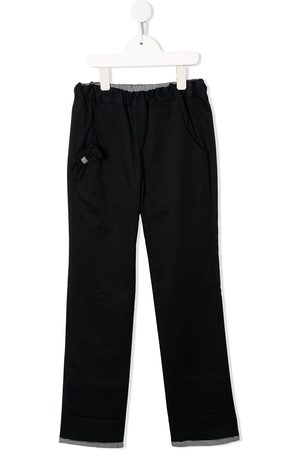 Familiar Bow-embellished trousers