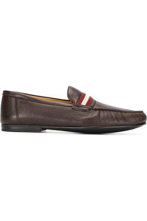 Bally Stripe trim loafers