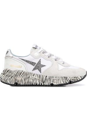 Golden Goose Zebra print Running Sole sneakers