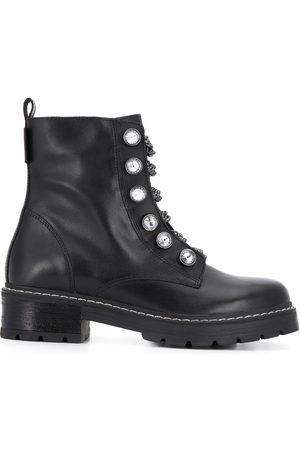 Kurt Geiger Chain lace ankle boots