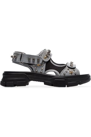 Gucci Aguru Sandals - Grey