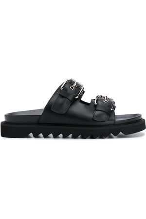 Moschino Double-buckle slides