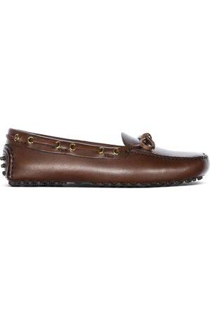 CAR SHOE Antique calf driving shoes