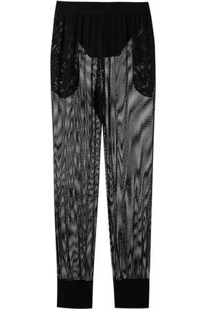 AMIR SLAMA Mesh trousers