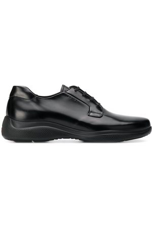 Prada Men Sneakers - Leather sneakers