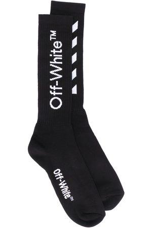 OFF-WHITE Men Socks - Logo print socks