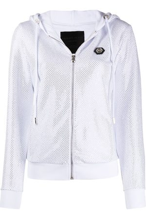 Philipp Plein TM embellished hoodie