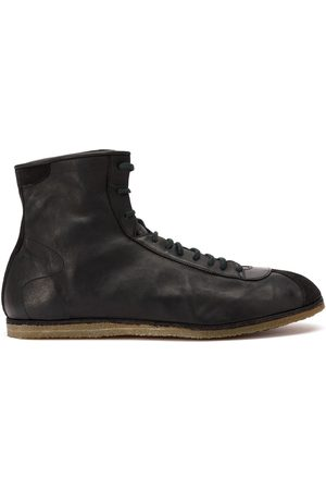 GUIDI Hi-top sneaker boots