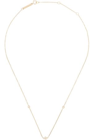 Zoe Chicco 14kt floating diamond necklace