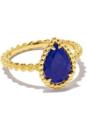 Boucheron 18kt yellow gold Serpent Bohème lapis lazuli ring - YG