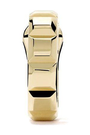 Boucheron Women Hoop - 18kt yellow gold Quatre Clou de Paris single hoop earring - YG