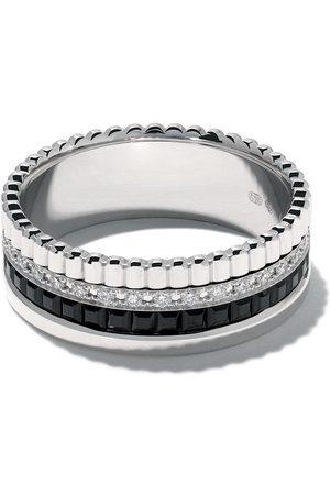 Boucheron Women Rings - 18kt white gold Diamond Quatre Black small ring - WG