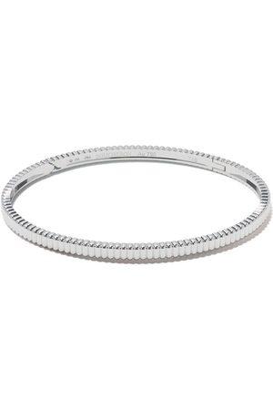 Boucheron Women Bracelets - 18kt white gold Quatre Grosgrain bangle - WG