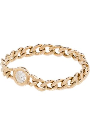 Zoe Chicco 14kt small curb chain ring