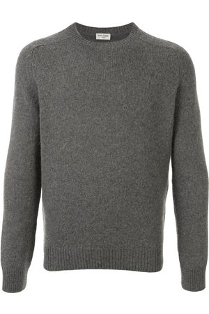 Saint Laurent Crew neck jumper - Grey