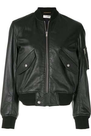 Saint Laurent Zip-up bomber jacket