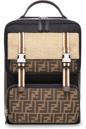 Fendi Men Rucksacks - FF motif backpack