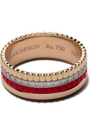 Boucheron Women Rings - 18kt gold Quatre Red diamond ring - 3G