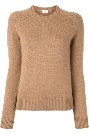 Saint Laurent Women Sweaters - Crew neck sweater