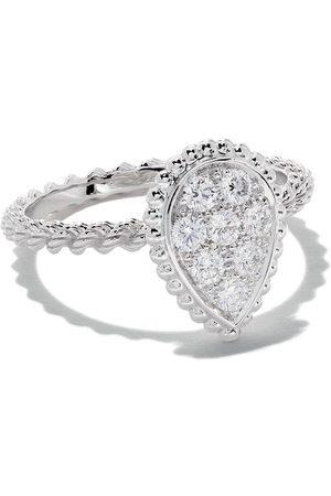 Boucheron 18kt white gold Diamond Serpent Bohème S motif ring - WG