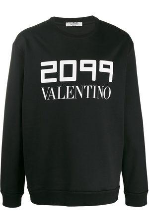 VALENTINO Men Sweatshirts - 2099 logo printed sweatshirt