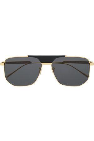 Bottega Veneta Eyewear Sunglasses - Hexagonal-frame sunglasses