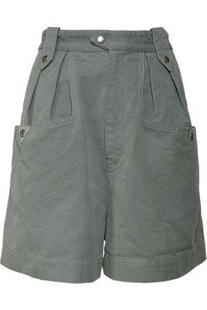 Isabel Marant Palino Cotton Gabardine Shorts