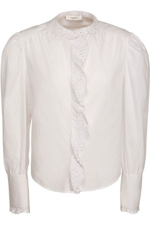 Isabel Marant Orlana Lace Cotton Poplin Shirt