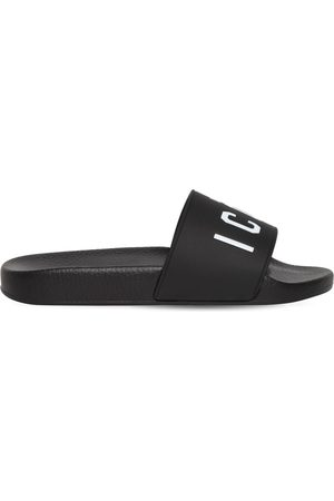 Dsquared2 10mm Dune Icon Rubber Slide Sandals