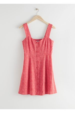 & OTHER STORIES Sleeveless Button Up Mini Dress