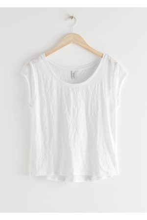 & OTHER STORIES Sheer Linen T-Shirt
